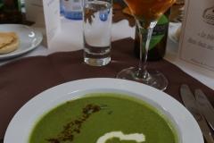 Soupe : Cresson de Fontaine et sa Saxo en potage épicé